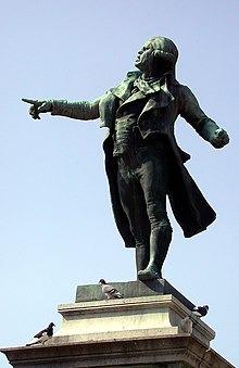 #UnDiaComoHoy de 1759, nace Geoges-Jacques Danton, considerado por algunos historiadores como la fuerza principal que impulsó la caída del Antiguo Régimen y el establecimiento de la Primera República Francesa. #CuidarteEsCuidarnos https://t.co/JbWedKD6ju