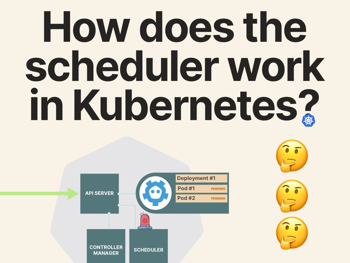 Ever wondered how Kubernetes distributes applications on the cluster 🤔 Join me on 11th November to find out! Register here: bit.ly/34wm9P7 twitter.com/learnk8s/statu…