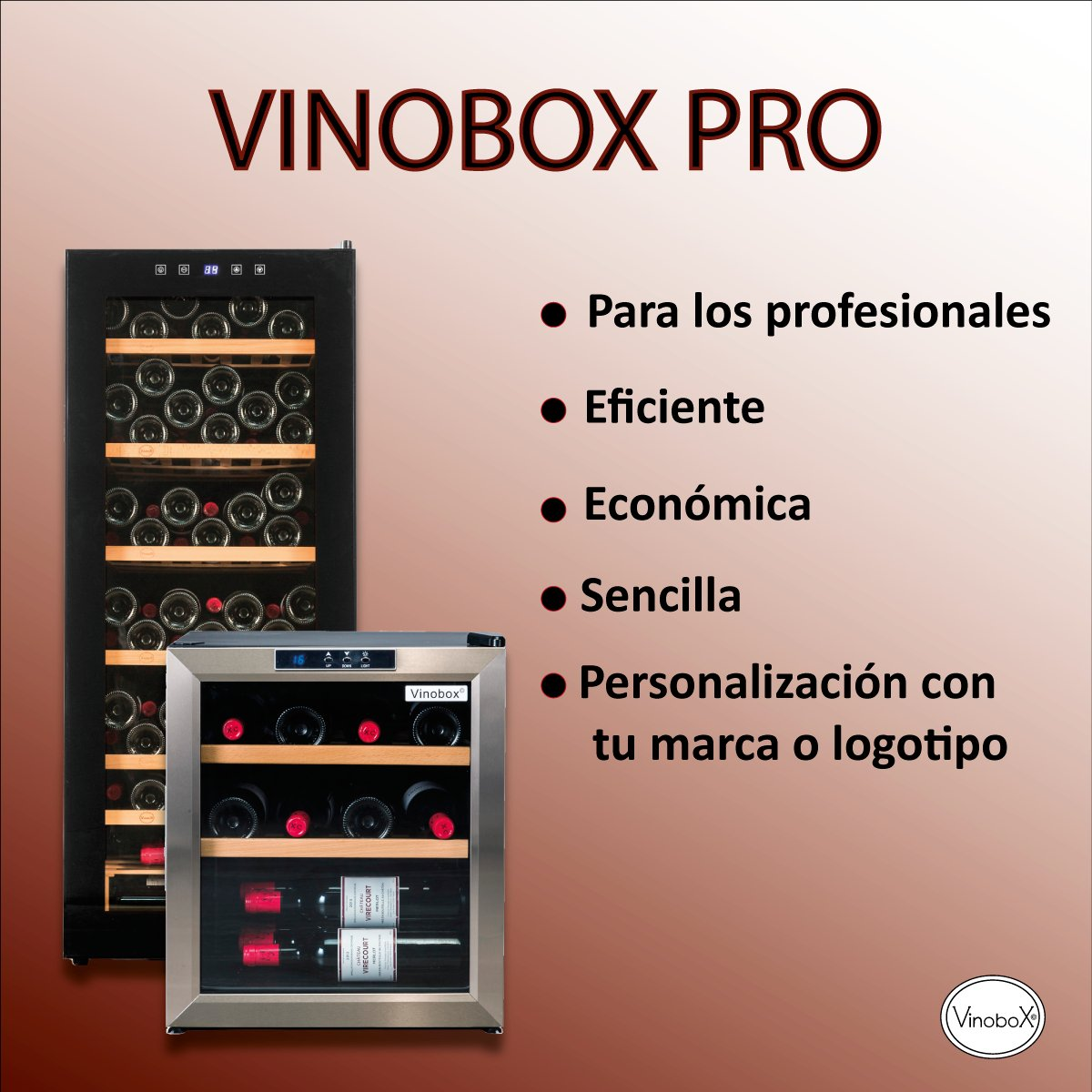 Nuestra Gama Vinobox Pro ✔ Eficiente y económica. 🔝 https://t.co/h7GuDfa4TM #wine #redwine #winetasting #cata #catavinos #winery #winetime #winelover #winelovers #instawine #wineoftheday #foodandwine #wineandfood #wineinstagram #wineigers #vinoteca #vinobox #wineconservation https://t.co/QUyyyIOvFC