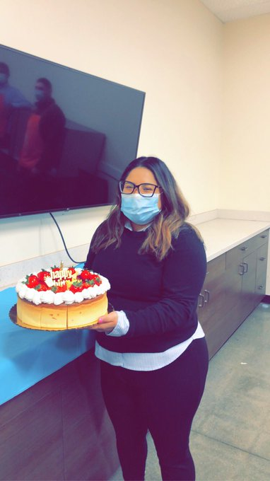 Help us in wishing our FES, Liz a Happy Birthday!