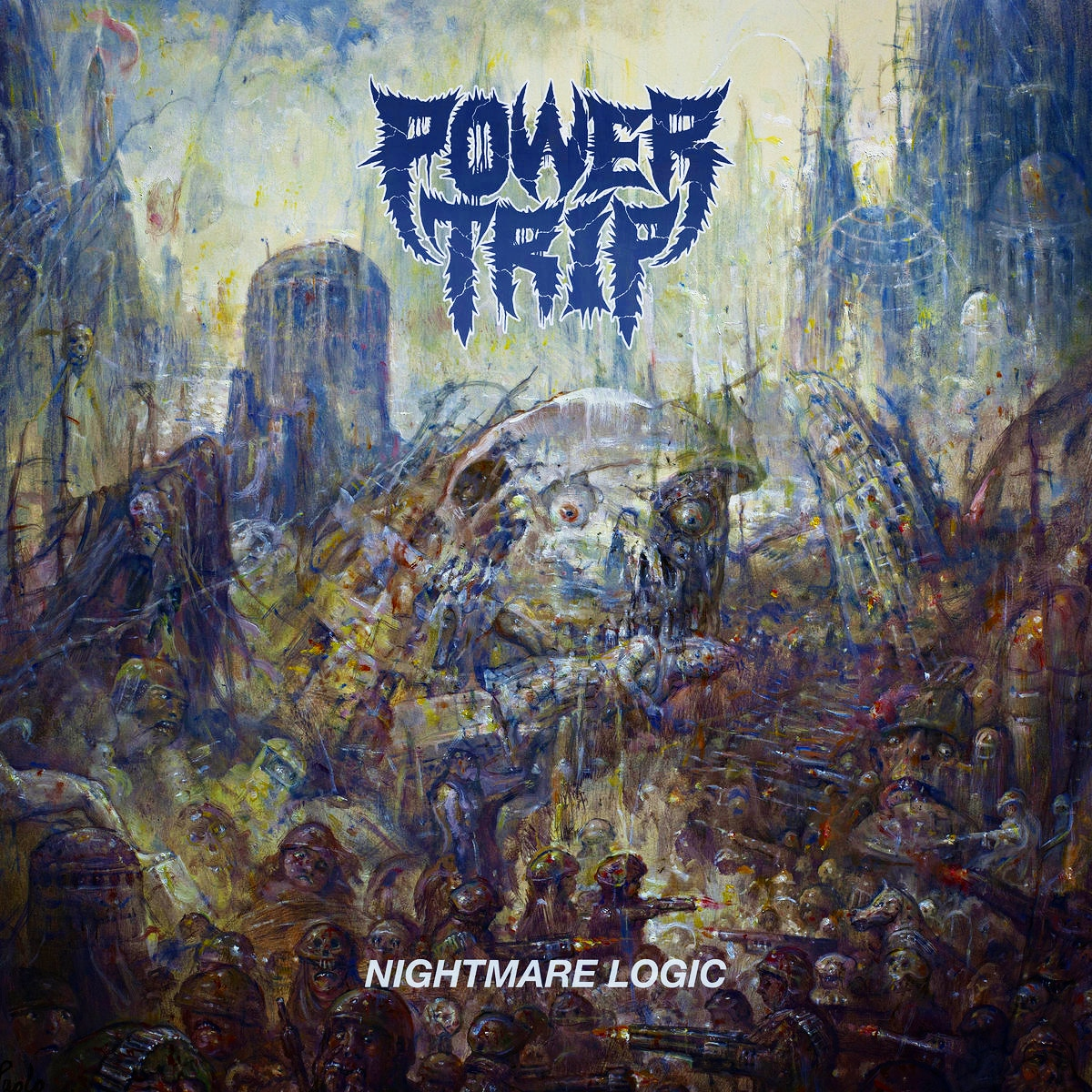 Power Trip tragically lost their amazing singer Riley Gale at the age of 34. Such an amazing person. Heart breaking.   Do you think Power Trip will try to continue on?  @powertriptx #thrash #thrashmetal #crossover #metal #deathmetal #rileygale #heavymetal #headbangers #metalhead https://t.co/YamCLCFsF8