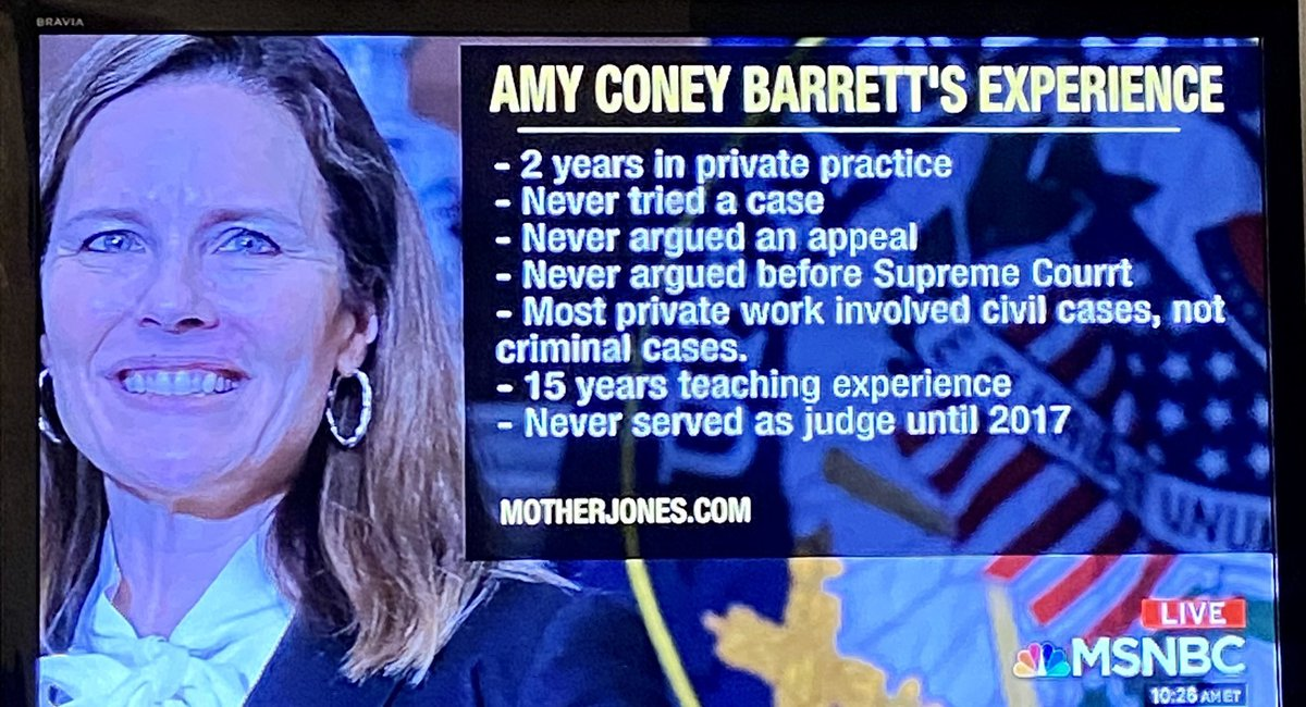This is white supremacy. Full stop. A Black Woman with this sorry ass resume would have trouble becoming a SCOTUS clerk. https://t.co/BF9UDftVta