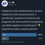 Image for the Tweet beginning: Decepción de programa por el
