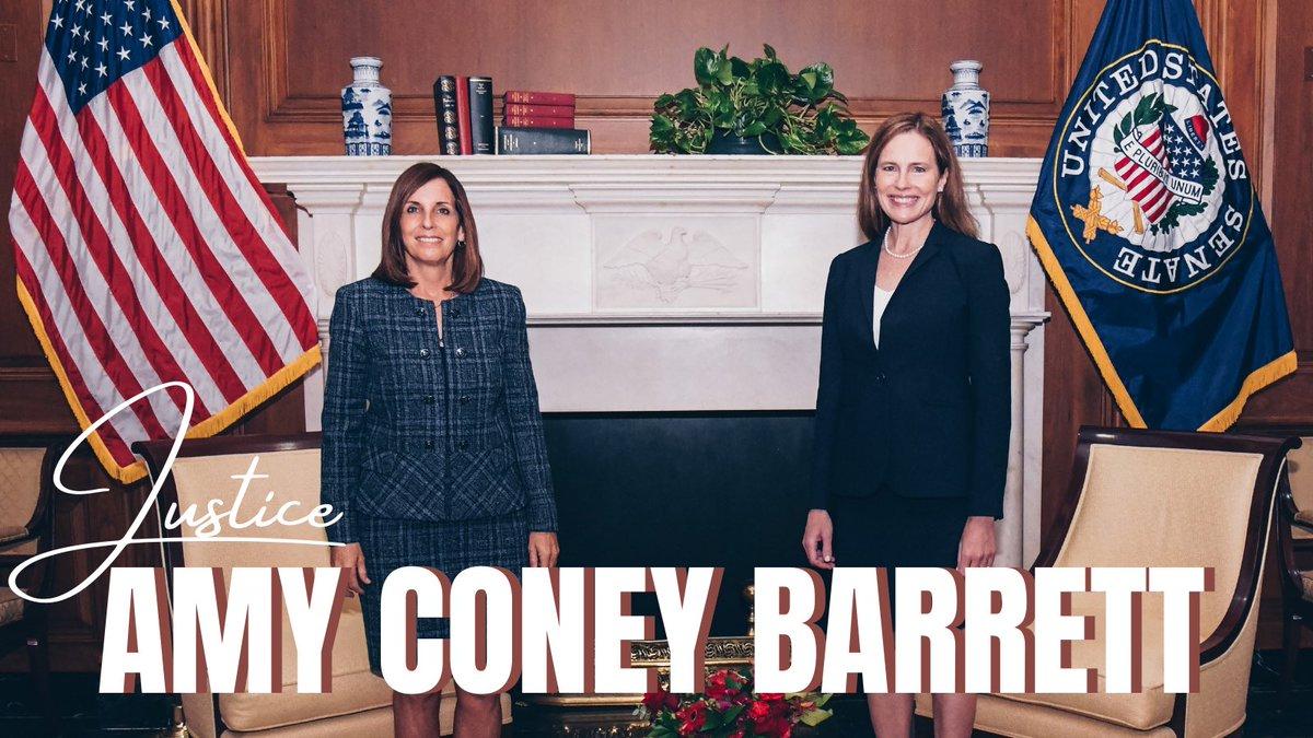Congratulations, Justice Barrett! 🇺🇸