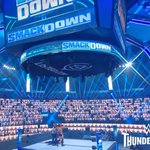 Image for the Tweet beginning: The @WWE #thunderdome is the