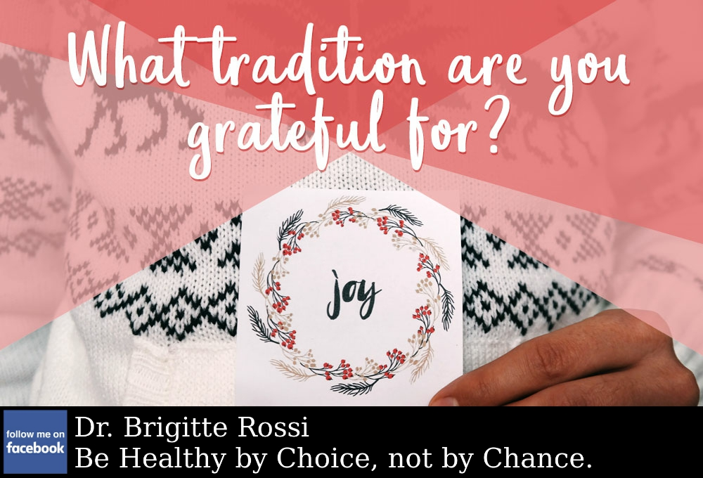 What are your cherished family #traditions? https://t.co/qNmWfFz6gE