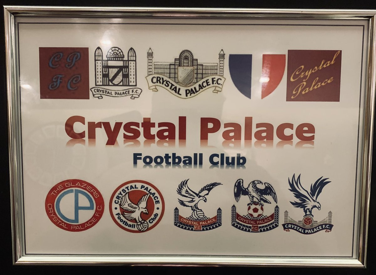 Crystal Palace, selection of badges from past to present 🎁 🎄 @CPFC @CPFC_Supporters #CPFC @CpfcNews_   https://t.co/FXPqTutVEn https://t.co/zH9InLjDTG