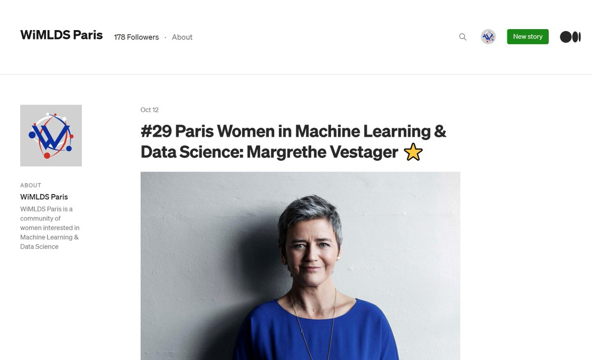 🤔 Did you know?  You can find all the sum-ups, slides and content from our meetups and speakers on our Medium page  👀   All the content is in 🇬🇧 because we are sharing #KnowledgeAndCare   #WiMLDS #WomeninTech #WiMLDSParis