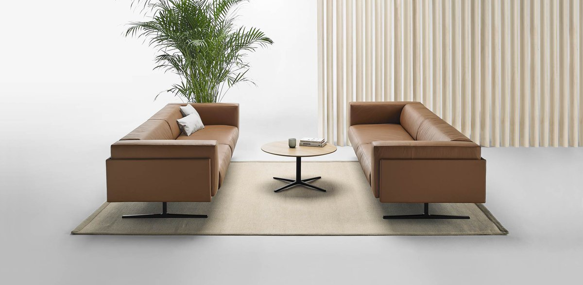 Designed by Christophe Pillet, MARCUS is a collection of iconic sofas created to inhabit lounge spaces in corporate or residential environments.  https://t.co/PUj20t1WJU