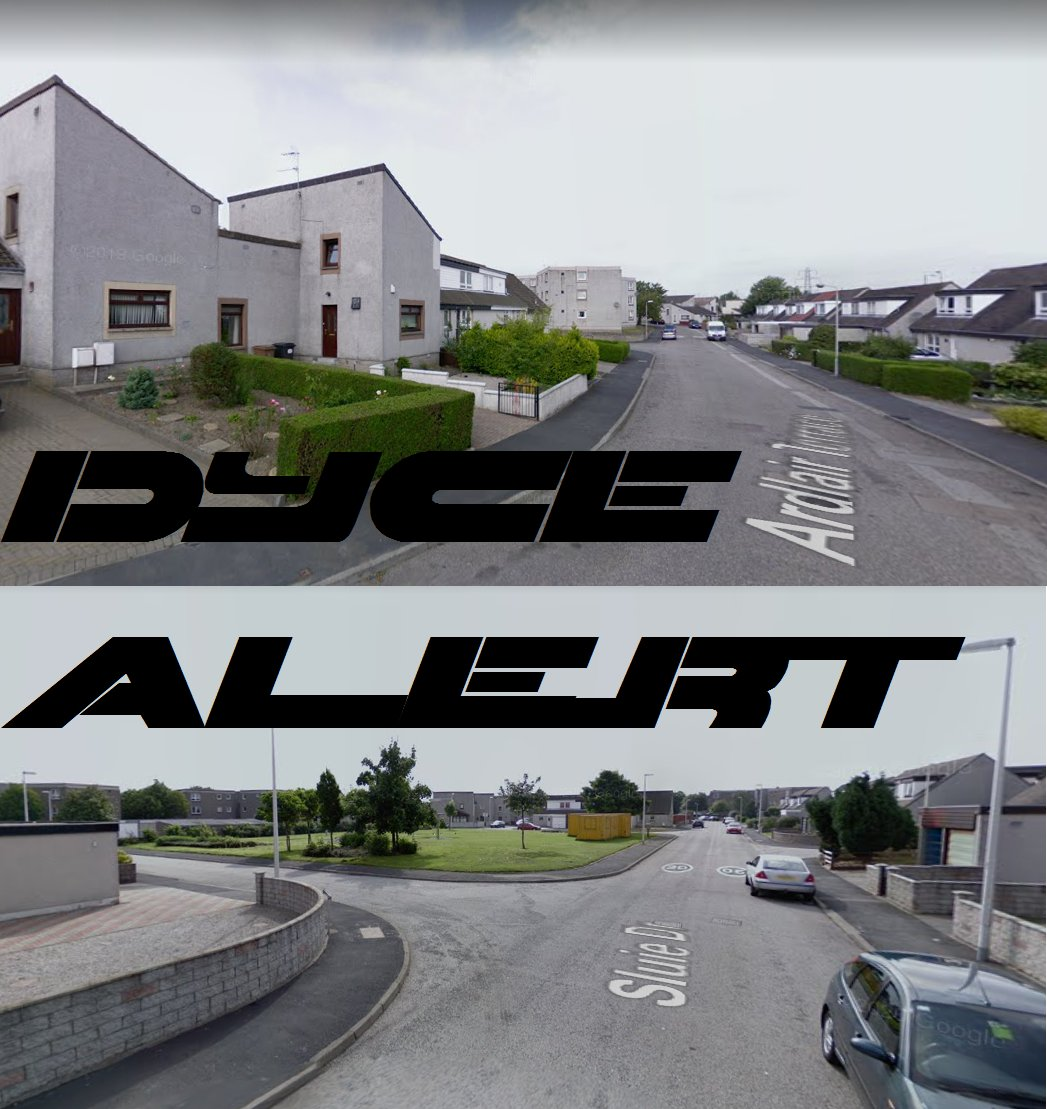 *CRIME ALERT*  There are people attempting to gain entry into properties in the #ArdlairTerrace & #SluieDrive areas of #Dyce in #Aberdeen.  If you've noticed anything suspicious call @PoliceScotland on 101 or @CrimestoppersUK , anonymously, on 0800555111.  Please RT. https://t.co/cYmDWR1xdZ