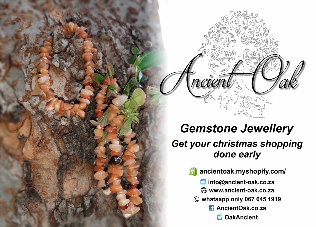Christmas around the corner!! #Ancient Oak Johannesburg - For all your custom #Gemstones #Jewellery, #Necklaces, #Bracelets, #Earrings, Soaps and Lotions You can also access #Shopify via the website https://t.co/llow9VQeDB Facebook: https://t.co/2Dd6tnA9qH https://t.co/Zlm6qwf43e