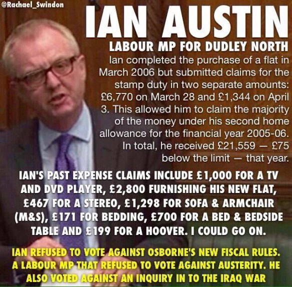 @LordIanAustin Here we go again. Nasty little bully & hypocrite 'Lord' Ian Austin, obedient 'stooge' of #ApartheidIsrael & the #UKIsraelLobby who doesn't  care about *real* #AS (hatred of Jews because they are Jews) in the #ToryParty, in #Snowflake mode! Meh! #Zionism #Racism #Apartheid #BDS https://t.co/VyC0ijkudd