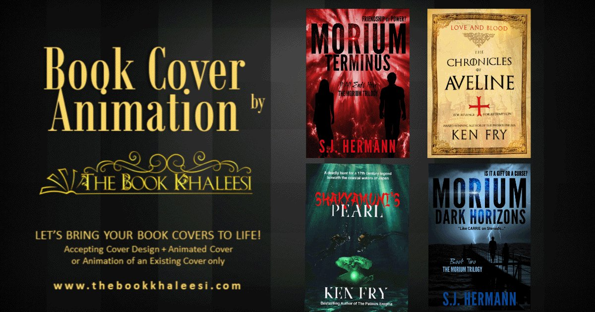 Book Cover Animation at The Book Khaleesi 👍 https://t.co/kedztkgQ1b Get more engagements with covers that move. Check it out now!  #bookcovers #coverdesign #animation #authors  #authorservices https://t.co/BhKpo0teKo
