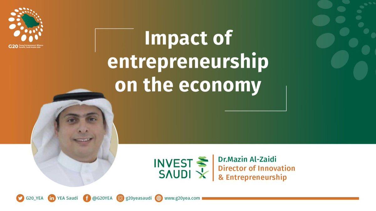 Thursday October 29 Panel One - Impact of Entrepreneurship on the Economy @SAGIAgov @MazinAlZaidi  الخميس 29 أكتوبر الجلسة الأولى - تأثير ريادة الأعمال على الاقتصاد https://t.co/zcCDpaWnAm