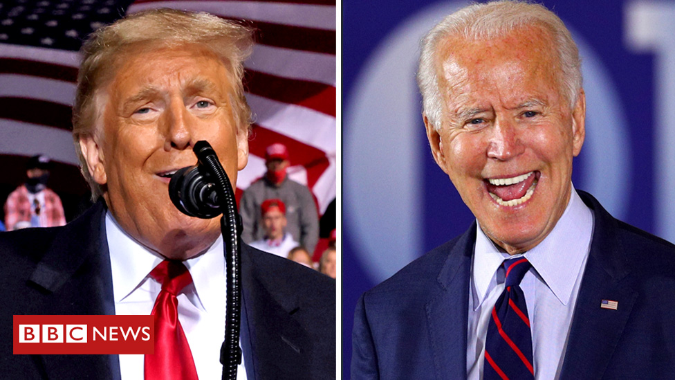 Every four years, the world watches the US election   Donald Trump won in 2016 – now he's in a close race with Joe Biden   Whoever wins will shape America's foreign policy and the global economy   So what has changed since 2016?  [Thread] 👇 https://t.co/86PL8VtJvk https://t.co/7q4CoxECJY