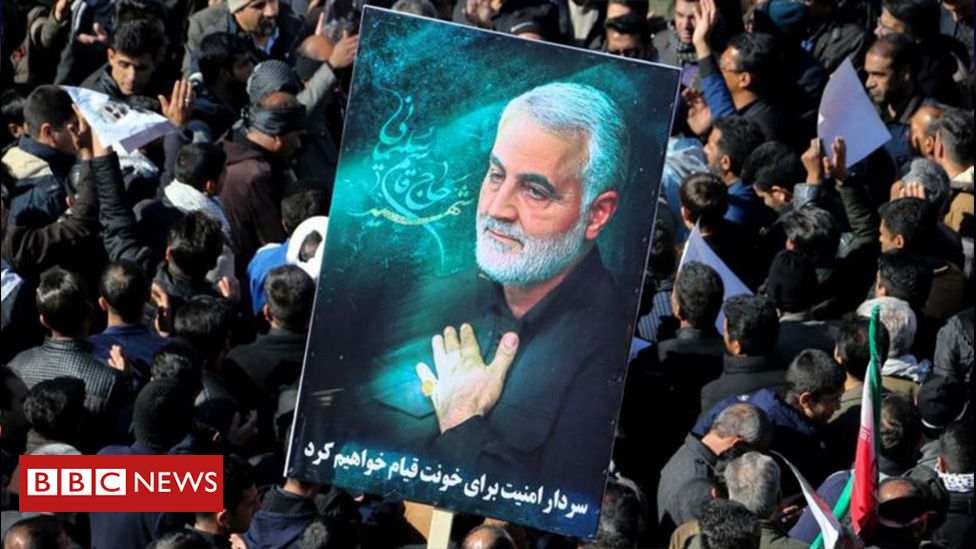 In January, the US assassinated Qasem Suleimani, Iran's most powerful general   Iran retaliated, and more than 100 US troops were injured   176 civilians also died when Iran's military mistakenly shot down a Ukrainian passenger jet   https://t.co/P1OD46YaaK https://t.co/qWuIEpBjOr