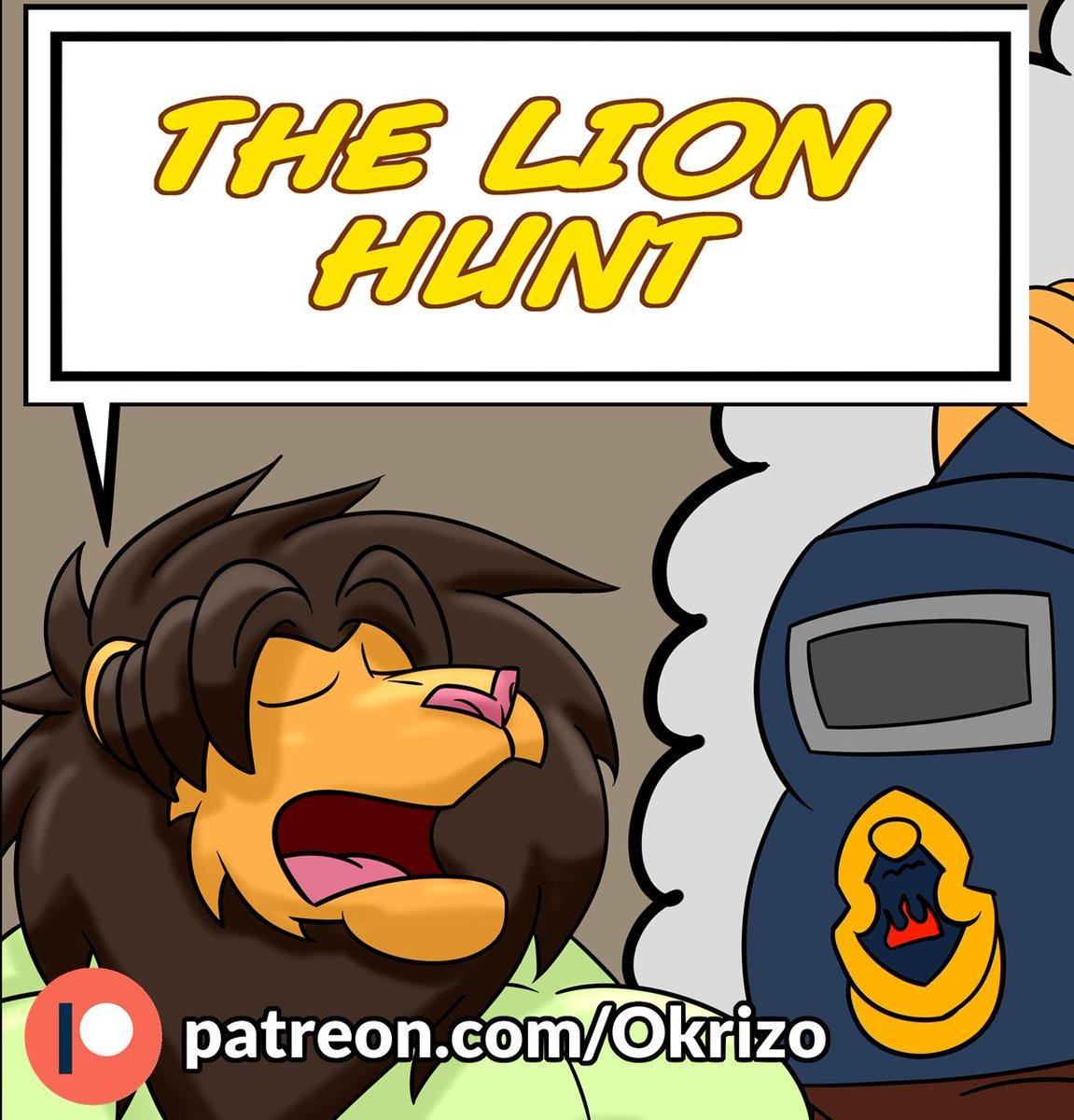 The lion hunt pagina 3 ya disponible en patreon ^^ patreon.com/Okrizo