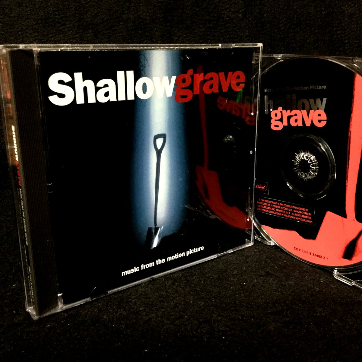 25th ANNIVERSARY!!!!!!!!!!!!!!!!!!!!!!!!!!!!!!!!  Shallow Grave (Music From The Motion Picture) [October 27th, 1995 rateyourmusic / 1995 wiki,discogs / March 26th, 1997 JAPAN] https://t.co/eHdpz8xE1s