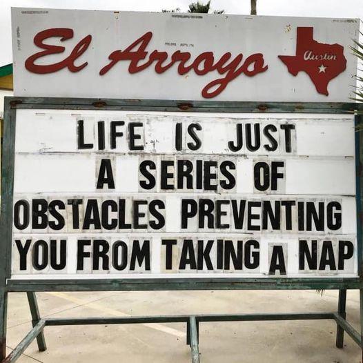#MM #MondayMotivation #MotivationMonday #Monday #SOTW #StartOfTheWeek #Life #Nap #NapTime #LifeIsASeriesOfObstaclesPreventingYouFromTakingANap https://t.co/oGmXCx1Y6z