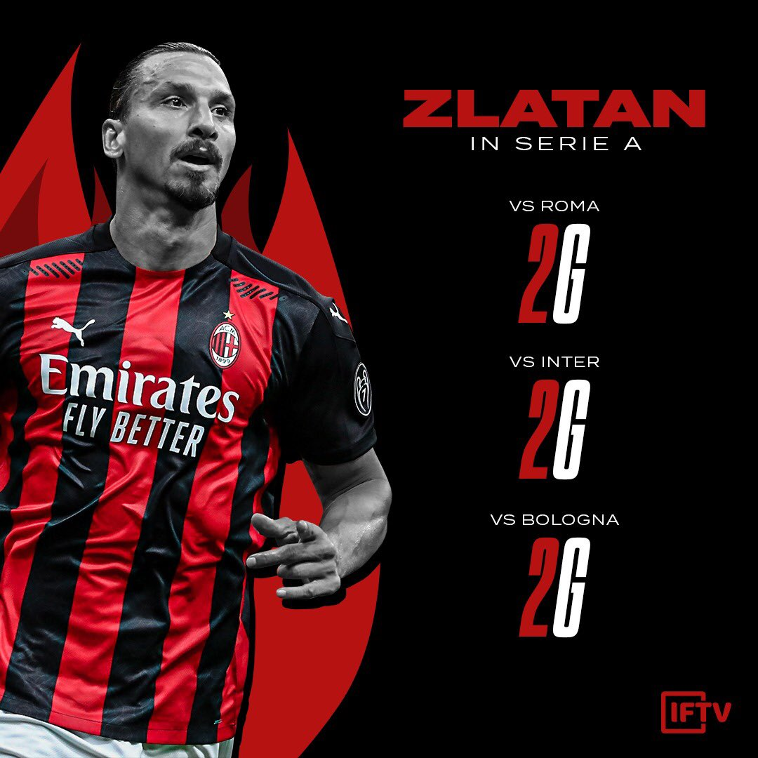 RT @IFTVofficial: Hell is hot, the sky is blue and Zlatan scores two 😈 https://t.co/FUkye5dAyN