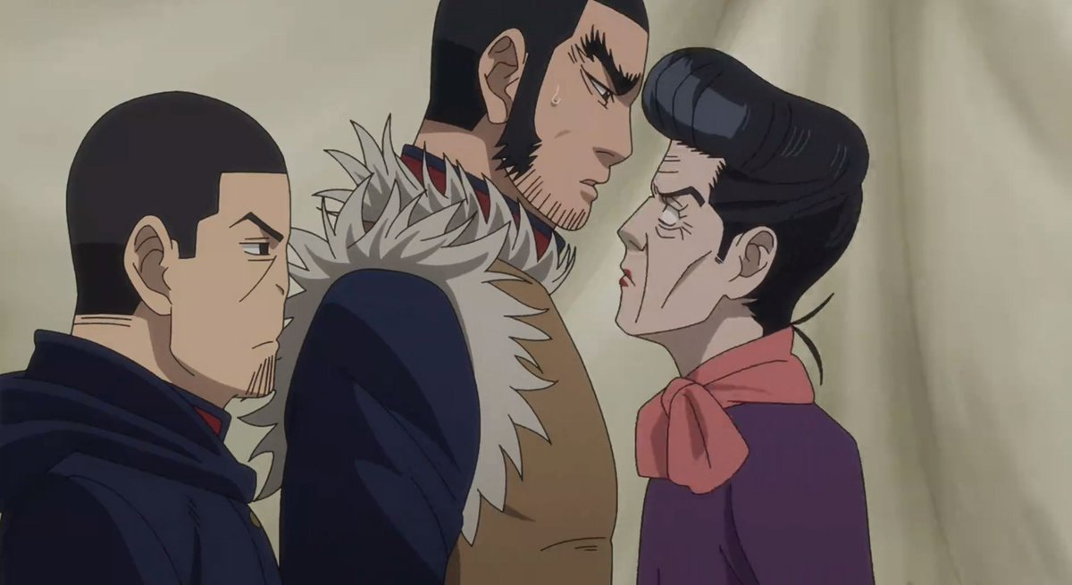 Golden Kamuy never fails to make me laugh! 😂😂