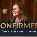 Image for the Tweet beginning: #Confirmed  Congratulations to 𝐽𝑢𝑠𝑡𝑖𝑐𝑒 Amy Coney