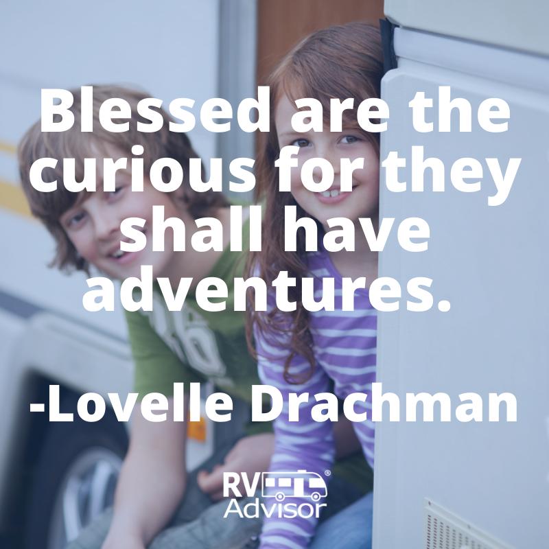 Never stop being curious.  #rv #rvlife #rvling #travel #roadtrip #wanderlust #vanlife #instatravel #travelgram #quote #quoteoftheday #adventure https://t.co/AAmS9mMWoE
