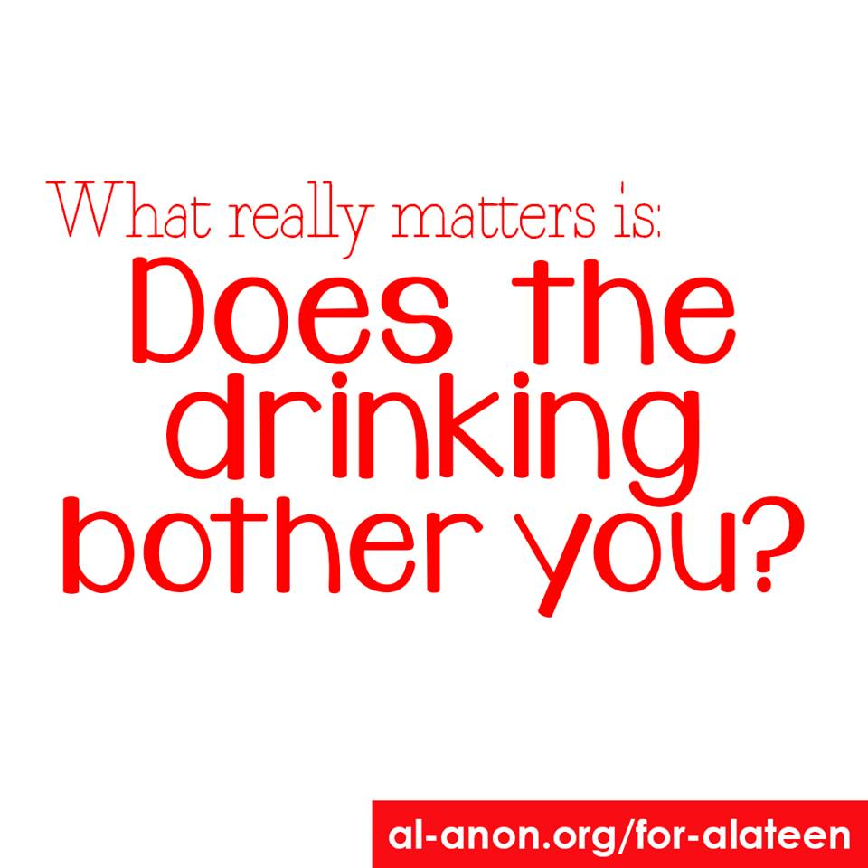 How serious does the drinker's problem hv to be for #Alateen to help? From the our perspective, what matters is: Does the drinking bother you? If it does, you may want to try Alateen.  https://t.co/rQx6EZkjut  #AlAnon #FamilyDisease #FamilyRecovery #alcoholism #addiction https://t.co/jCQJ0Wu1bn