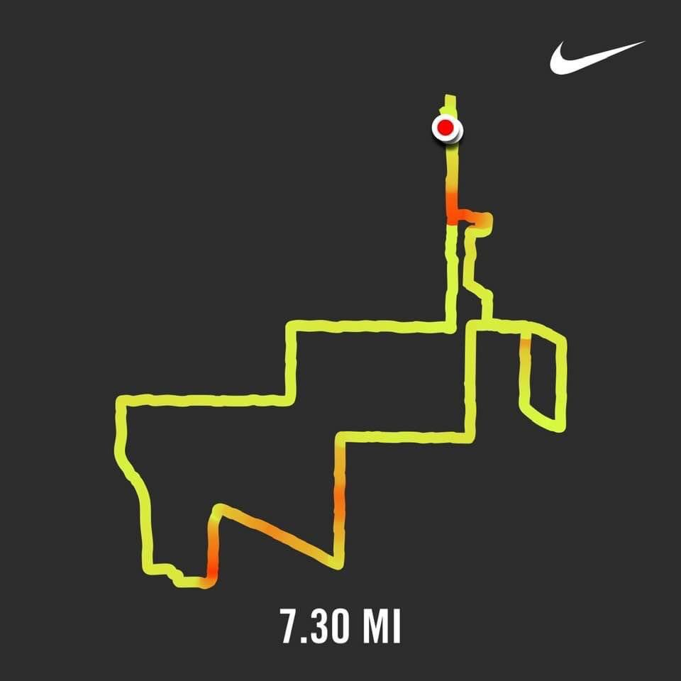 Winter is trying to upstage autumn. First cold one, but fall is holding on.  🍁🍂#7miler #run #winteriscoming #runner ❄️❄️ https://t.co/tVPelUeI3B