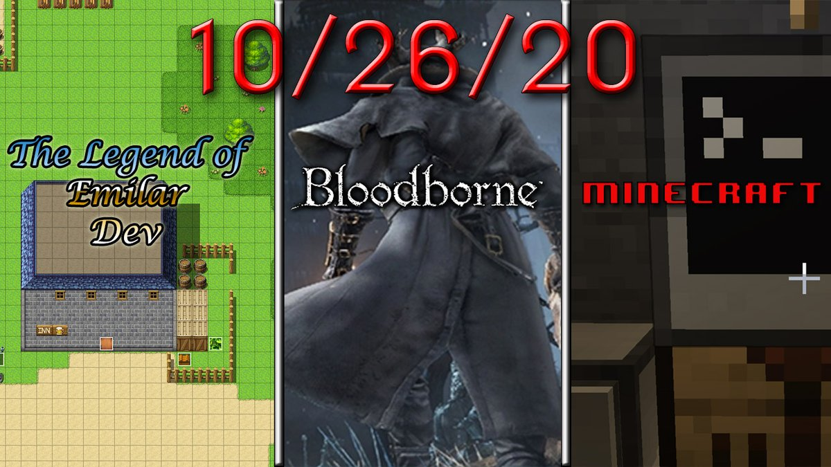 Live now!  LoE codex plugin development, the Bloodborne NG+, and Minecraft w/ Valhesia 3 mod all on the menu tonight.  Come hang out at https://t.co/oM7QRi76KE! #TwitchStreamers #TwitchAffilate #TwitchTVGaming #Minecraft #RPGMakerMV #Plugin #Development #Bloodborne #JS #LUA https://t.co/XnZe8taQGu