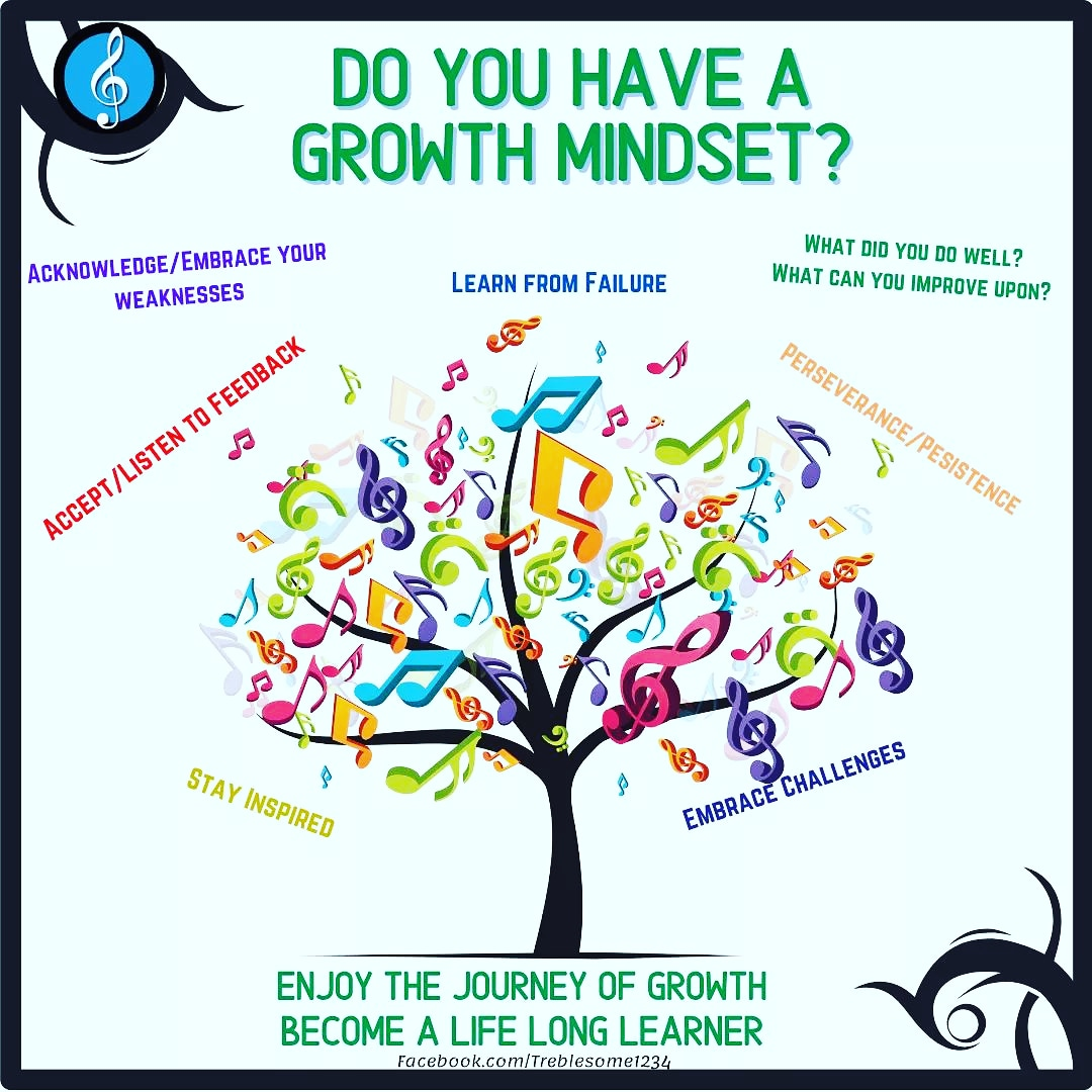 Do you have a growth Mindset? What do you do in your everyday life to continue to push yourself to learn? What Music challenges/Blocks have you faced and what did you do to overcome them? ❤️ #growthmindset #lifelonglearning #musiceducation #positivemindset https://t.co/UM0Zv7XGjP