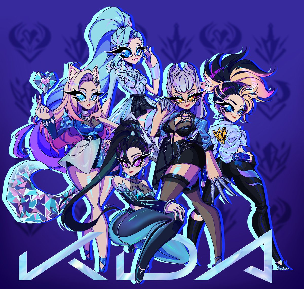 💎ALL/OUT💎 #KDAMORE #BEMORE @KDA_MUSIC https://t.co/69MR8LguQs
