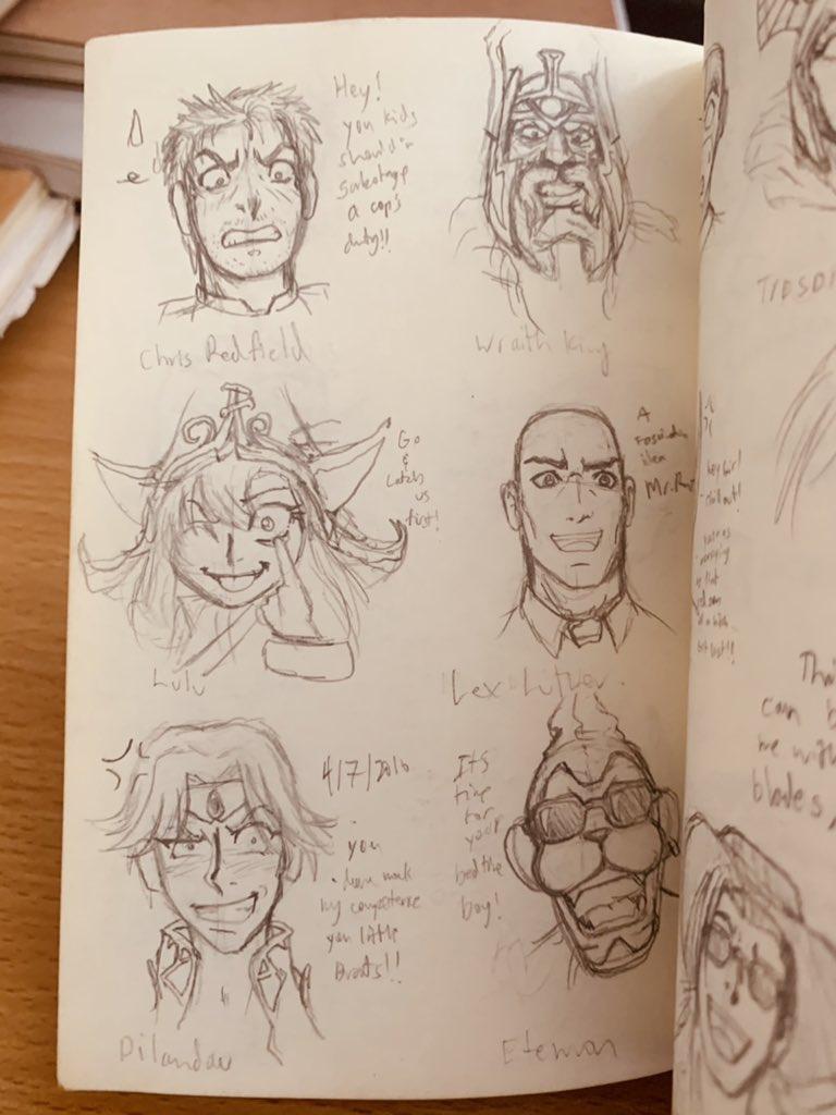 - #lineart #WIP #drawing #sketchbook #FANART #crossover  -#leagueoflegends #dota2 #digimon #pokemon #dccomics #xmen #gundam #onepiece #transformers #ffviii https://t.co/04AVNCBVir