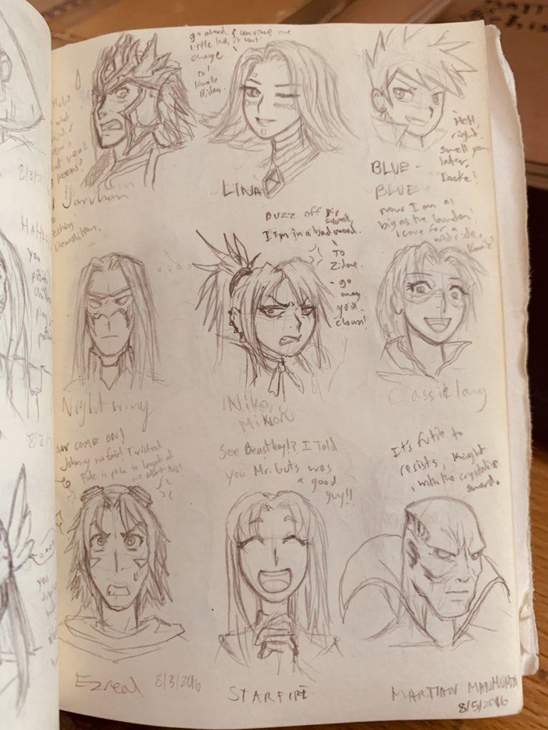 - #lineart #WIP #drawing #sketchbook #FANART #crossover  -#marvelcomics #TeenTitans #digimon #deadpool #pokemon #SoulCaliburVI #GuiltyGear #LeagueOfLegends #finalfantasy #ffviii https://t.co/JMjGOEyHnu