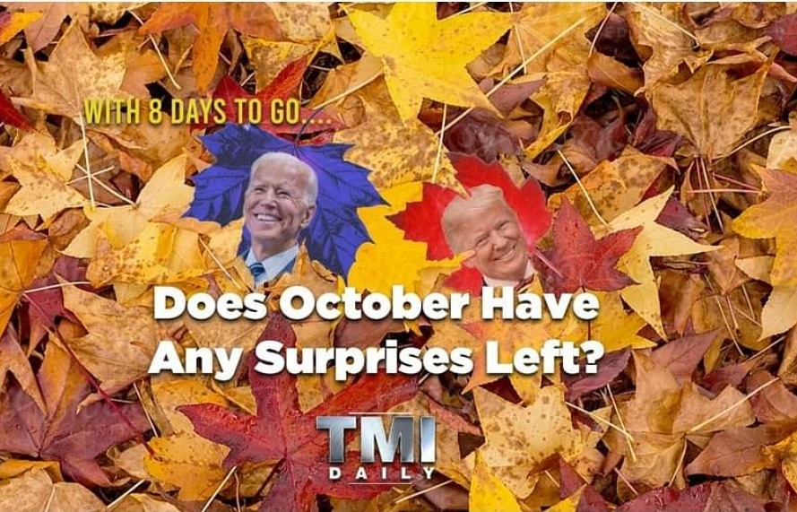 We are ready for another week of #TMIDaily! Join us #live at 6 p.m. PDT on https://t.co/Zv4WVWJtqP or listen to us on #ApplePodcasts or your #podcast #streaming platform of your choice.  #news #comedians #writers #talkshows  #hollywood #election #electionday #election2020 https://t.co/75hwjFIWmy