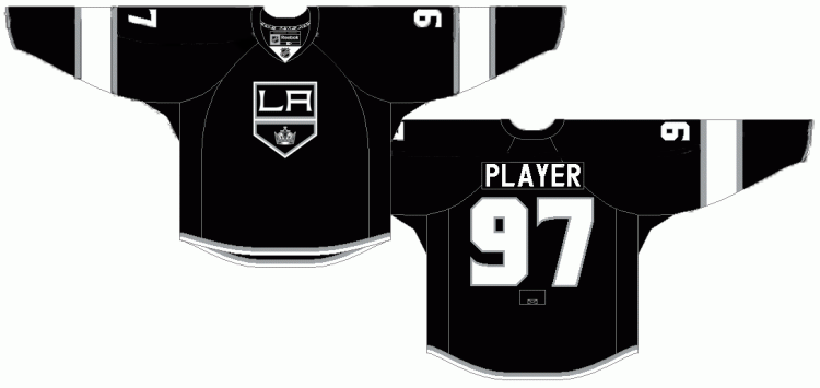 I made 2 slight improvements to make the @NHL @LAKings  jerseys a little bit better. Just took out the pinstripe and on the second one returned back to the crown logo. Both look a lot better than the original in my opinion. Let me know what you think #LAKings #JerseyDesign #NHL https://t.co/DBljBAvuyR