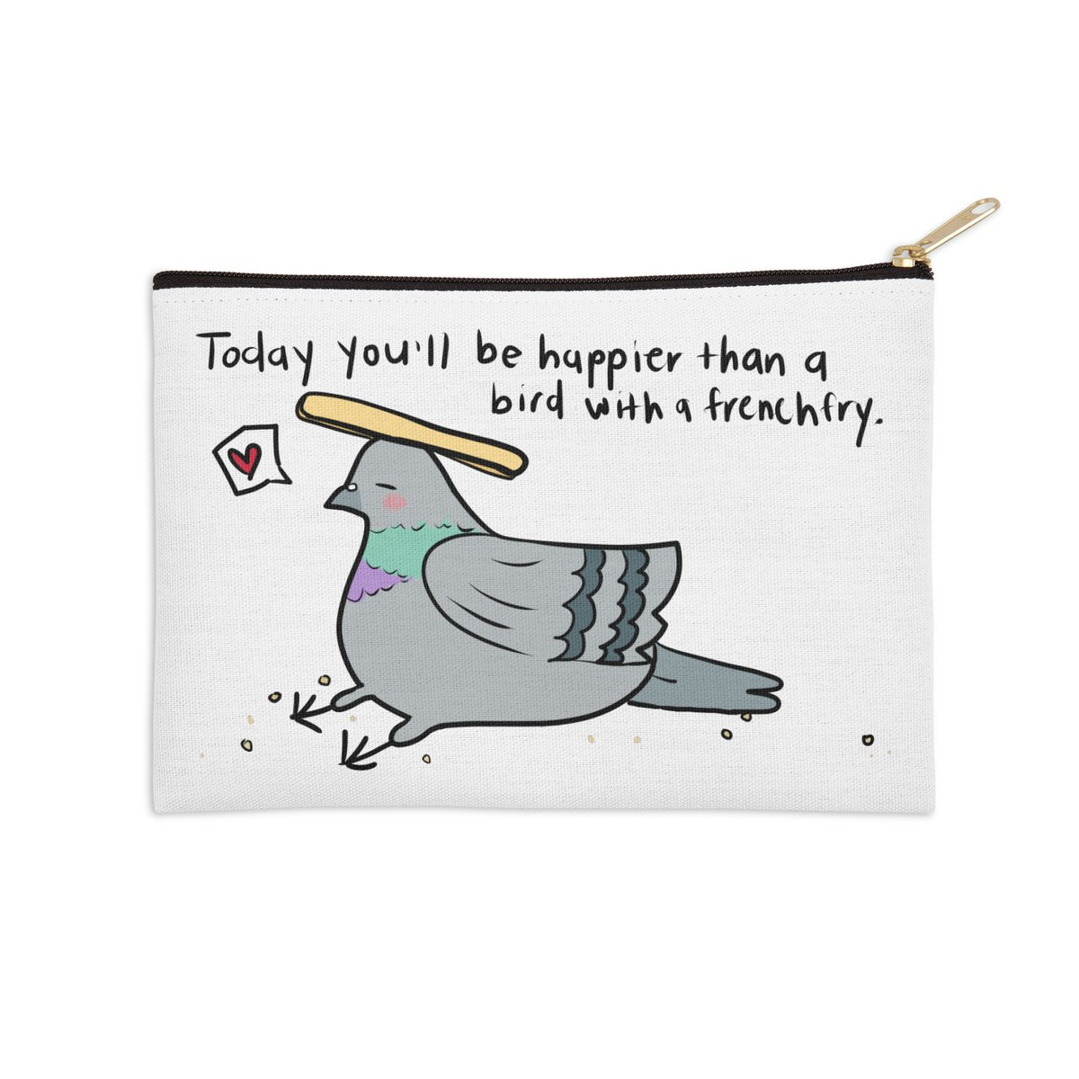 Carry your daily affirmation with you! Have a great week! #behappy @threadless Link in pinned tweet   #hawaii #positive #positivity #apparel #Accessories https://t.co/IxcxpEl9W2