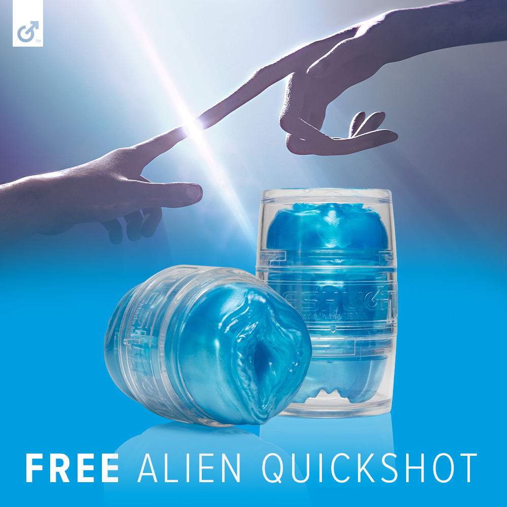 Scare up some fun this Halloween with a FREE limited edition Alien Quickshot toy with minimum purchase