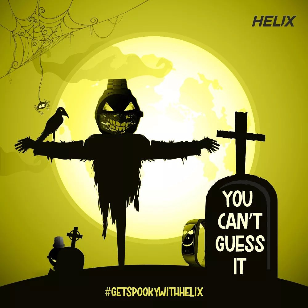 #ContestAlert  It's okay to be a little spooky today! Look out for the correct number of watches and masks in the picture. Comment below or DM us your entry today! P.S. Dig deep, there are more.  #Halloween2020 #Giveaway #GiveawayAlert #Contest #Helix #HelixWatches #HelixIndia https://t.co/Lny5VaJVnw
