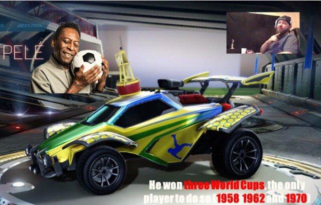 @RocketLeague Happy Birthday Legend 🎉🤘😎 #Pele80 #Orei80