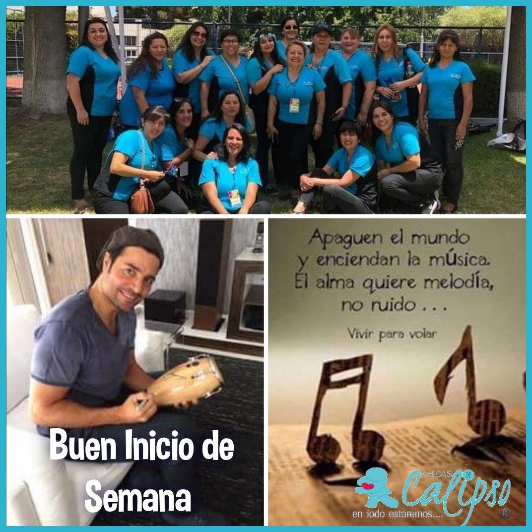 Lindo inicio de semana @Telemundo los mejores deseos para ustedes y la mejores vibras un abrazo con mucho cariño desde Punta Arenas #YoMeQuedoEnCasa @ChicasdeCalipso https://t.co/DgW5Zg9t4z