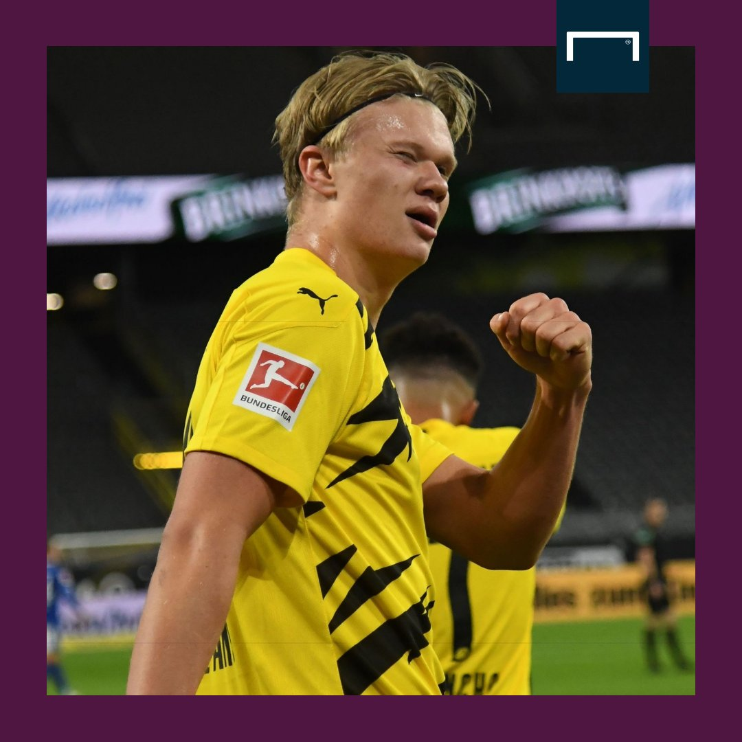 Haaland's release clause at Dortmund will become active in June 2022 and can be triggered for €75m, according to Fabrizio Romano 😯 https://t.co/6z1nFt71B1