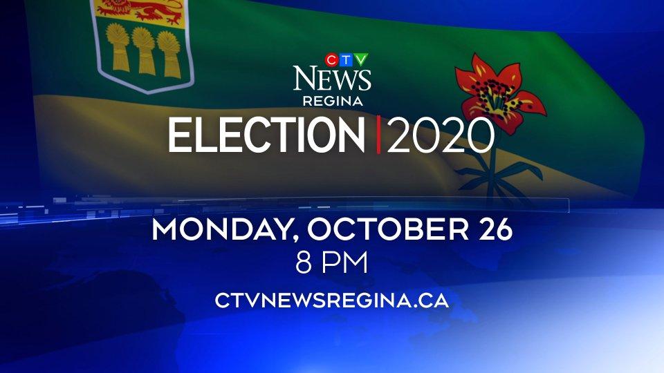 WATCH: CTV News Saskatchewan's coverage of the 2020 Provincial Election, LIVE @ 8 p.m. https://t.co/Sc6xzlvc6n #yqr #sk https://t.co/NEtsyKG7O6