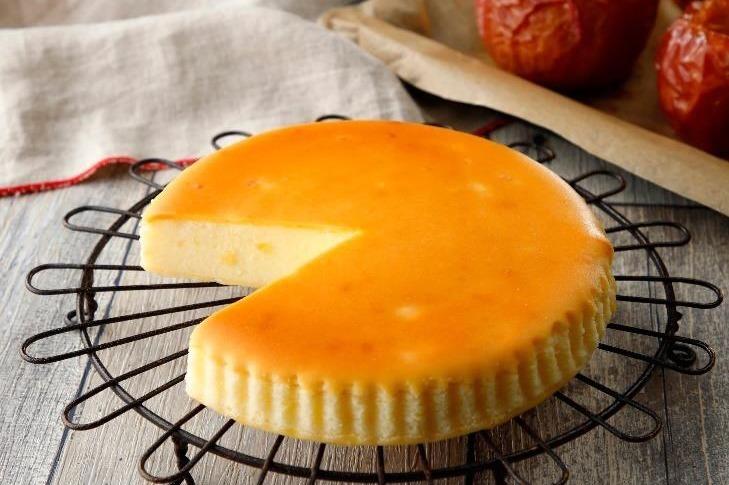 [明日発売] チーズガーデン秋冬限定「御用邸あっぷるチーズケーキ」たっぷりりんご果肉×濃厚チーズ -