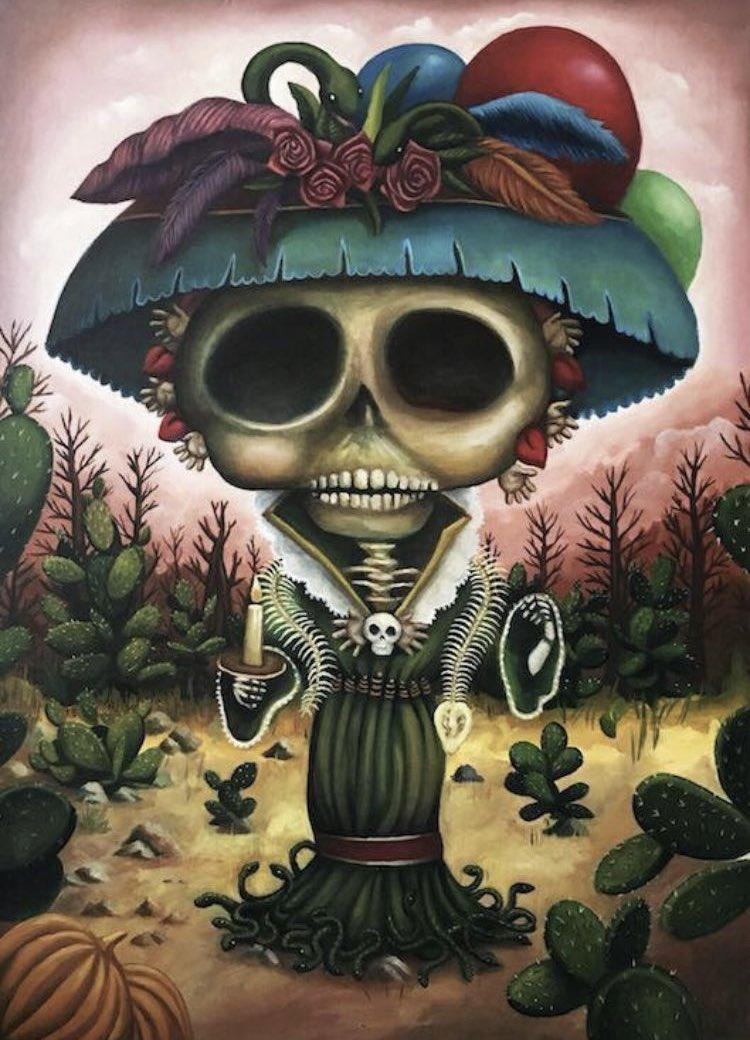 La catrina Garbancera, 2016 Óleo sobre tela 70x100cm  Col. Privada  #DiaDeMuertos #calavera #catrina #muertos #Calaverita https://t.co/ZyIrwYEMHF