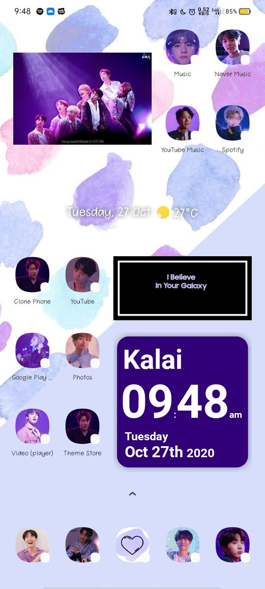 On Twitter I Changed My Homescreen And Lockscreen Into Ios14 Style It Took Me 8hours To Do This All Aesthetic Colors Android Btsfanart Bts1onhot100 Btswallpaper Bts Btsarmy Bored Anime Ios14homescreen Ios14icons