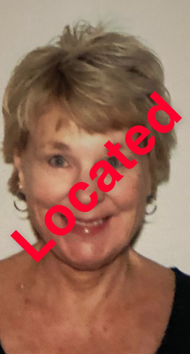 Thanks to @PeoriaPoliceAZ who located Sherry and George near 85th Ave and Voltaire!
