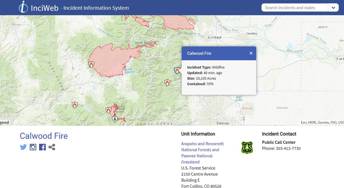 October 26, 2020 #CalwoodFire Update https://t.co/5ueFNTPhTf Containment: 76% https://t.co/vhzpNU1ROP