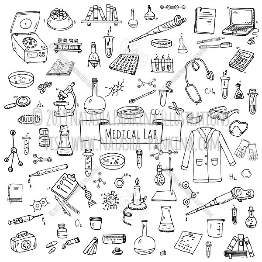 Medical lab. Hand Drawn Doodle Medical laboratory Icons Collection. https://t.co/T4LUV1rBoz #vector #drawing #handdrawn #artist #illustration #doodle https://t.co/NccJPXCkaZ