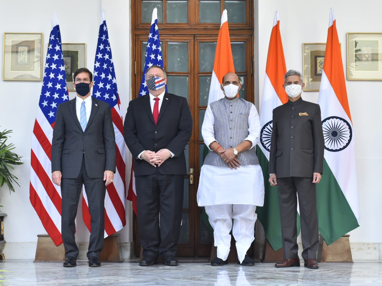 US stands with India, says Pompeo as India-US ink landmark defence Pact after 2+2 Dialogue
